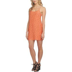 NWT 1. State havana shift dress lace coral gem xl